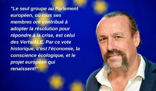 Le Parlement européen adopte une résolution historique !