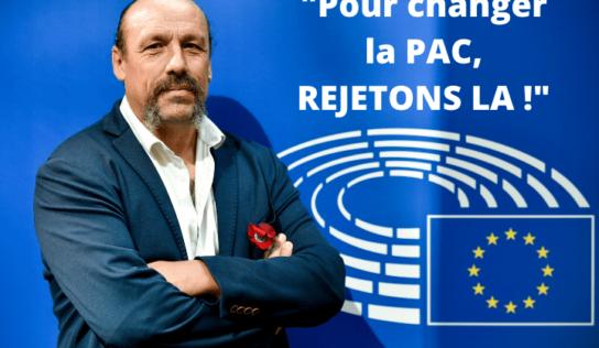 Plénière : «Nous devons rejeter cette PAC !»