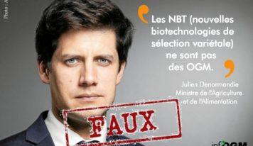 Julien Denormandie, avocat du lobby pro-OGM